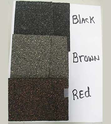 Shingles Colors